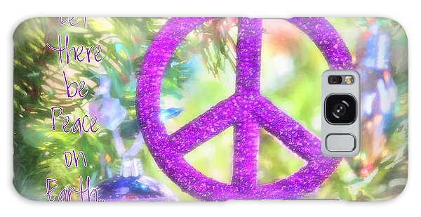 Let There Be Peace On Earth Galaxy Case