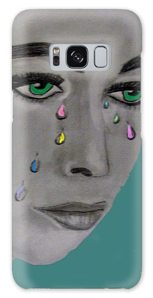 Let There Be Tears Galaxy Case