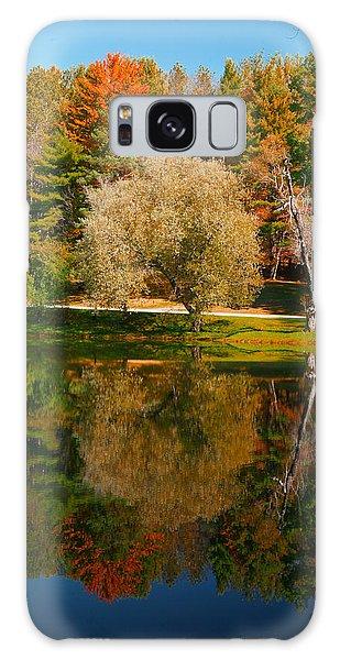 Letchworth Autumn Reflections Galaxy Case by Richard Engelbrecht
