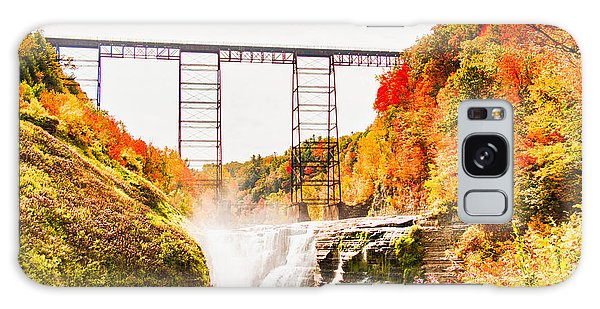 Letchworth State Park Galaxy Case by Jim Lepard
