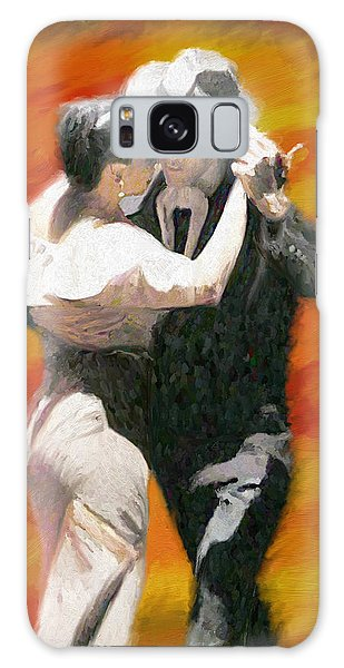Let's Dance Galaxy Case by James Shepherd