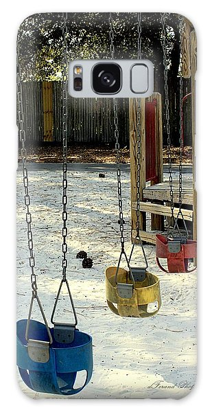 Let's Swing Galaxy Case by Debra Forand