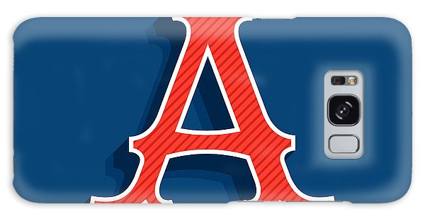 Logo Galaxy Case - Letter A Logo In Classic Sport Team by Kaer stock