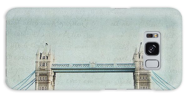 Letters From Tower Bridge - London Galaxy Case