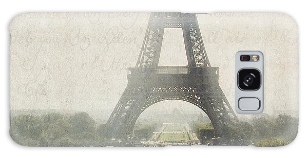 Letters From Trocadero - Paris Galaxy Case