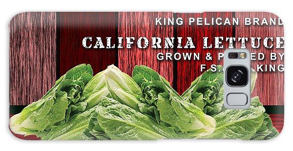 Lettuce Farming Galaxy Case