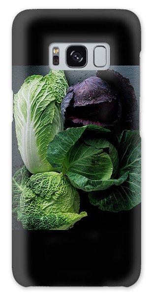 Lettuce Galaxy Case by Romulo Yanes