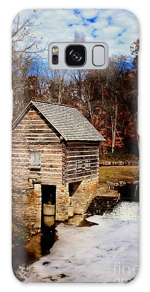 Levi Jackson Park Water Mill Galaxy Case