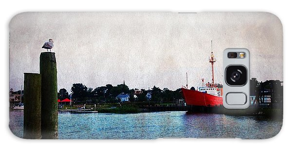 Lewes - Overfalls Lightship 2 Galaxy Case by Richard Reeve