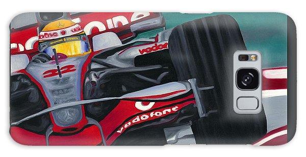 Lewis Hamilton F1 World Champion 2008 Galaxy Case