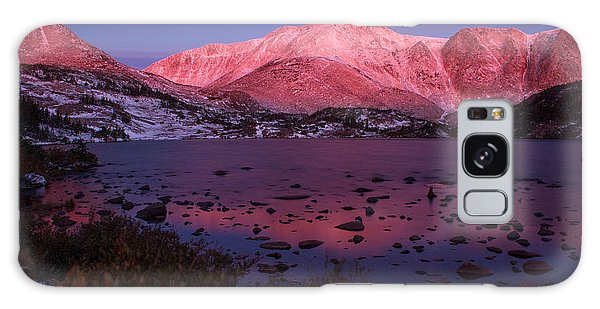 Lewis Lake Sunrise Galaxy Case