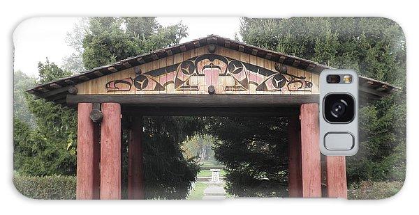 Lheit-li Nation Burial Grounds Entrance Galaxy Case