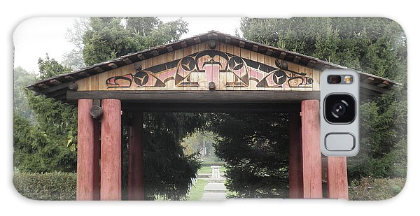 Lheit-li Nation Burial Grounds Entrance Galaxy Case