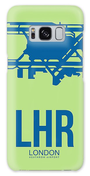 England Galaxy Case - Lhr London Airport Poster 2 by Naxart Studio