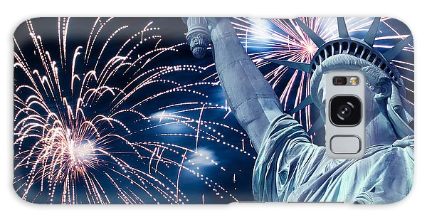 Fireworks Galaxy Case - Liberty Fireworks by Delphimages Photo Creations