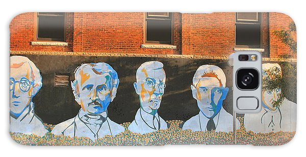 Liberty Street Mural Galaxy Case by Pat Cook