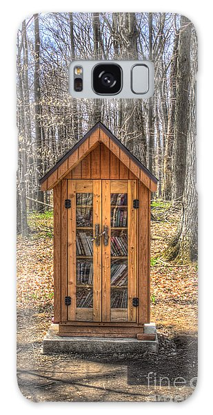 Library In The Woods Galaxy Case