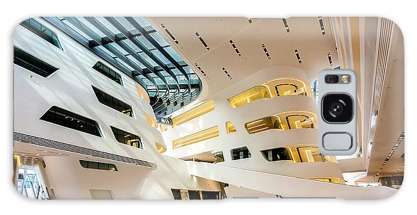 Library Interior 2  Zaha Hadid Wu Campus Vienna  Galaxy Case