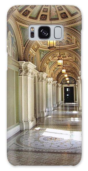 Library Of Congress Hallway Washington Dc Galaxy Case