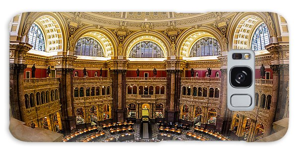 Library Of Congress Main Reading Room Galaxy Case