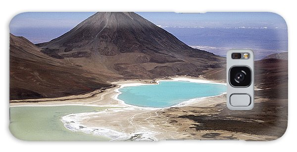 Licancabur Volcano And Laguna Verde Galaxy Case