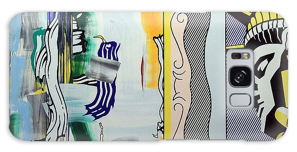 Lichtenstein's Painting With Statue Of Liberty Galaxy Case by Cora Wandel