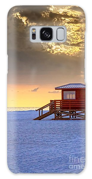 Life Guard 1 Galaxy Case by Marvin Spates