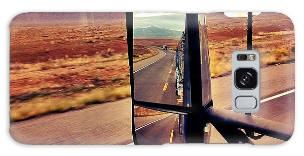 Life In My Rearview Mirror Galaxy Case