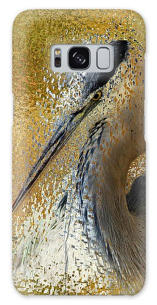 Life In The Sunshine - Bird Art Abstract Realism Galaxy Case