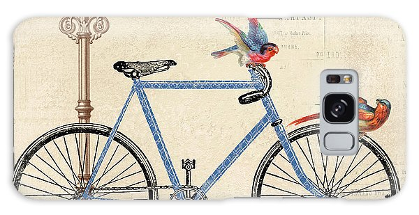 Life Is A Beautiful Ride Galaxy Case by Jean Plout