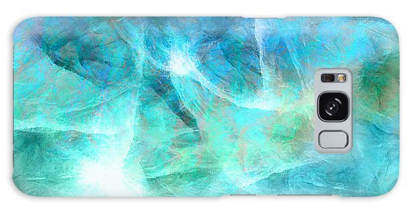 Life Is A Gift - Abstract Art Galaxy Case