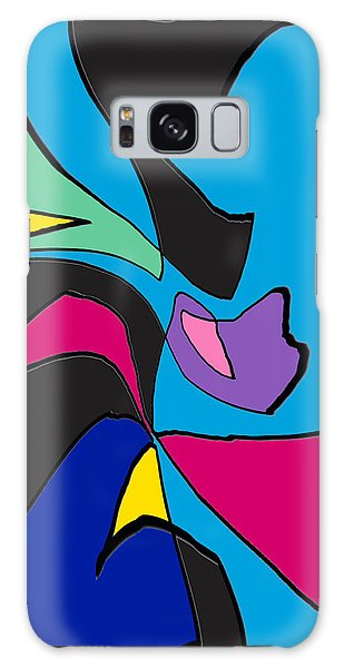 Original Abstract Art Painting Life Is Good By Rjfxx.  Galaxy Case