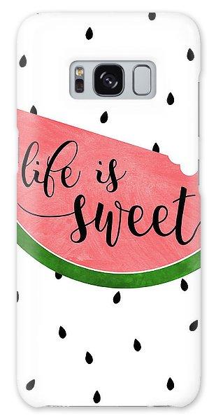 Life Is Sweet - Watermelon Galaxy Case