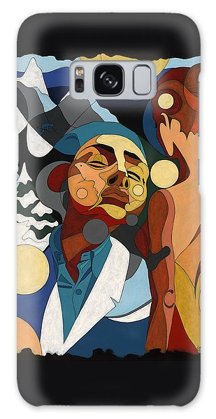 Life Of Roy Painting With Hidden Pictures Galaxy Case