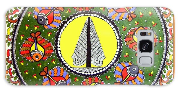 Life Of Tree-madhubani Painting Galaxy Case