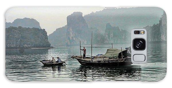 Life On Ha Long Bay I Galaxy Case by Chuck Kuhn