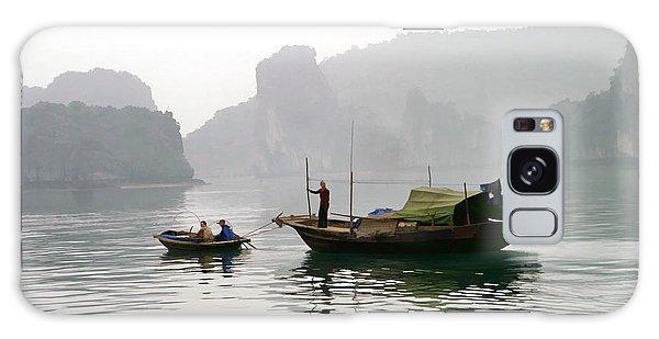 Life On The Bay Vietnam Galaxy Case by Chuck Kuhn