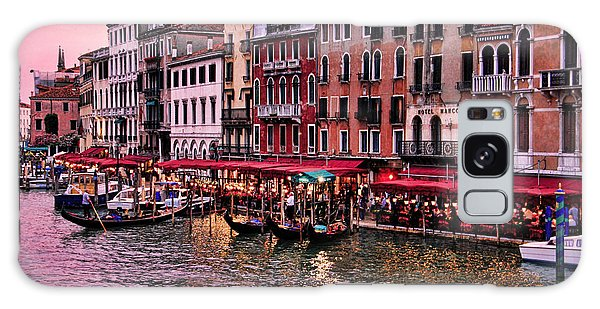 Life On The Grand Canal Galaxy Case by Oscar Alvarez Jr