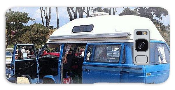 Vw Bus Galaxy Case - Life's A Beach #camper #vw #vwcamper by Ash Hughes
