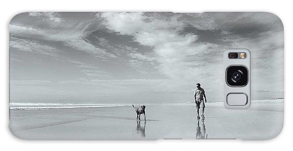 French Galaxy Case - Life's A Beach by Karen Van Eyken