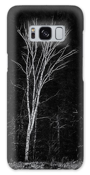 Life's A Birch No.2 Galaxy Case