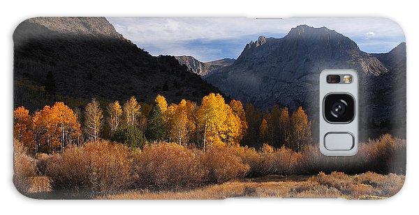 Light And Dark In An Autumnal Sierra Landscape Galaxy Case