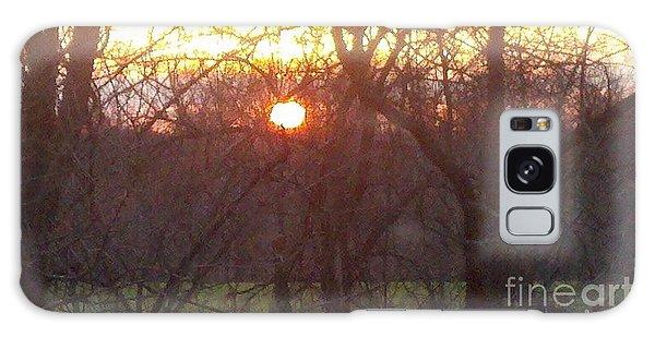 Light At Sunrise Galaxy Case