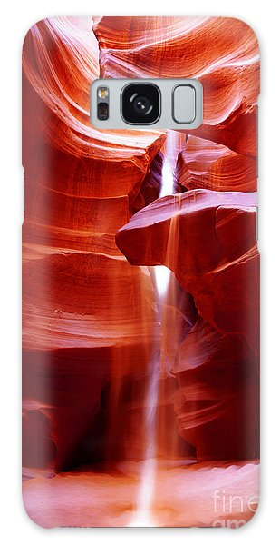 Light Beam At Antelope Canyon Galaxy Case