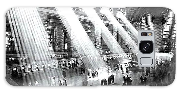 Light Beams Grand Central Station 1929 Galaxy Case by Merton Allen