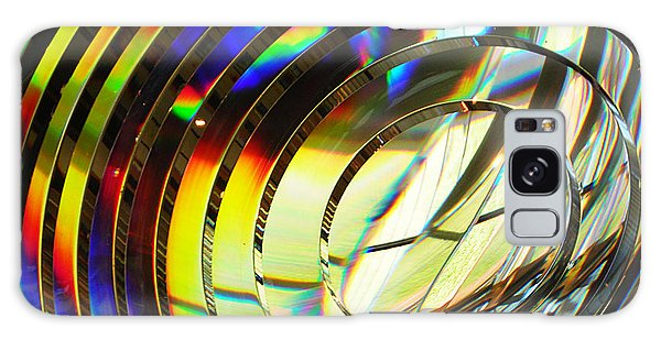 Light Color 1 Prism Rainbow Glass Abstract By Jan Marvin Studios Galaxy Case