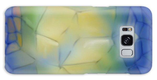 Light Cubes Away Galaxy Case by Constance Krejci