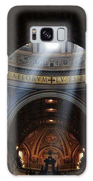 Light From Above Galaxy Case by Oscar Alvarez Jr