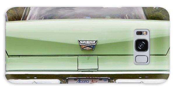Light Green Classic Car Galaxy Case