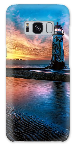 Lighthouse Galaxy Case - Light House Sunset by Adrian Evans